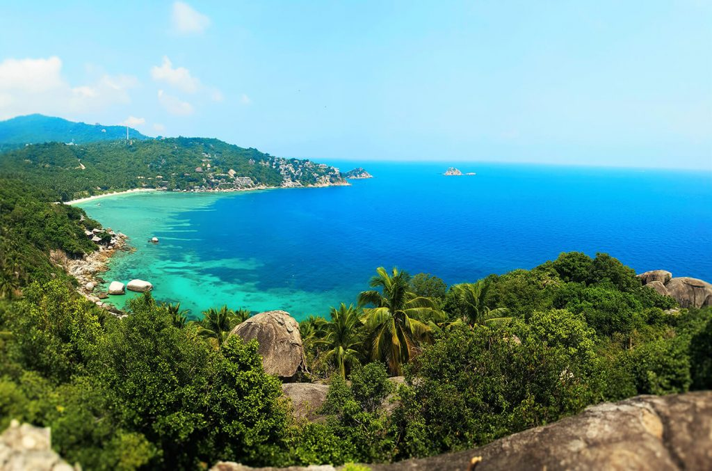 nature in asia Ko Tao