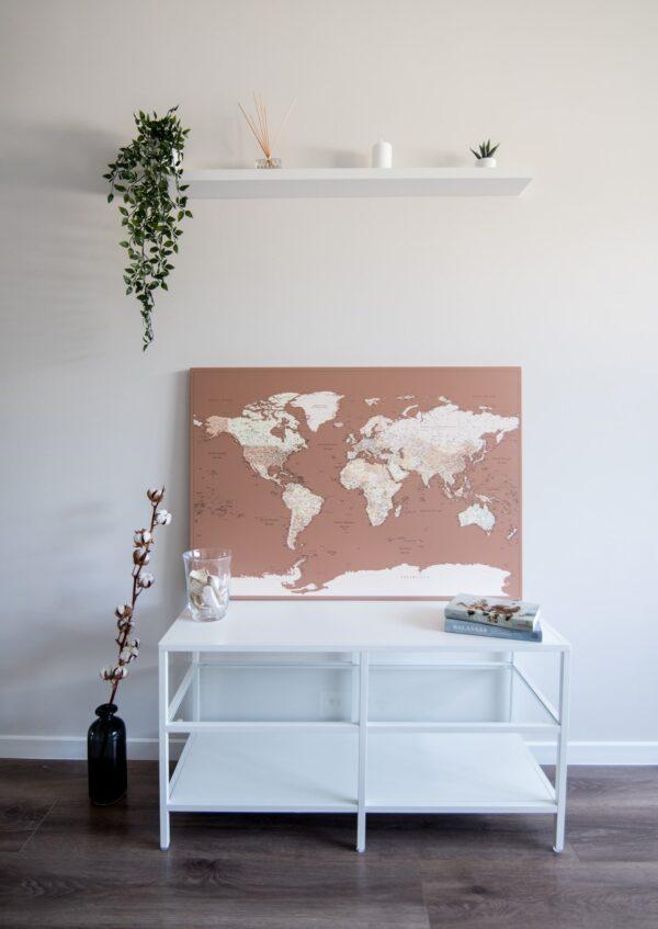 beige-brown-world-map-detailed