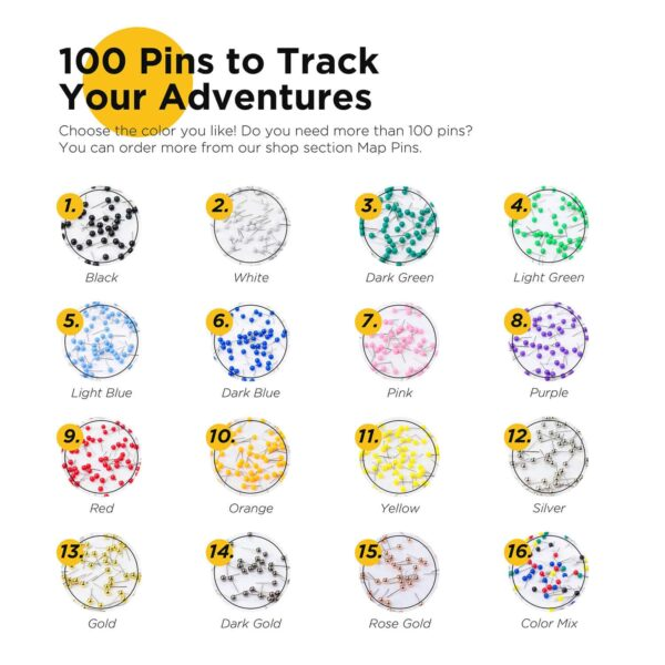 map pins to track adventures