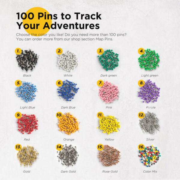 push pin for tripmap