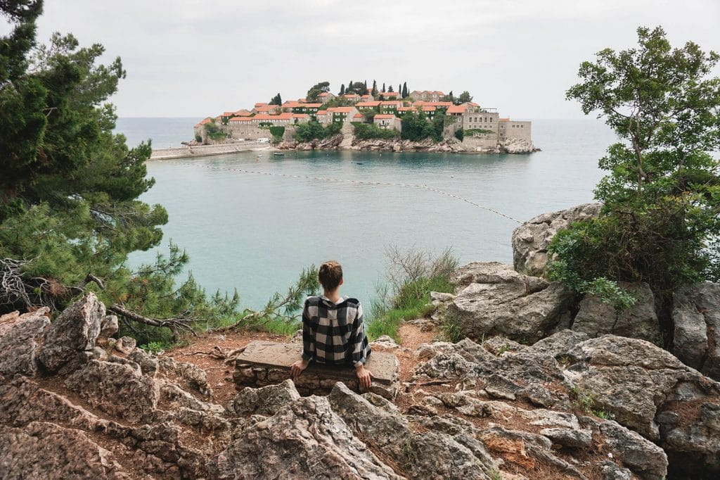 sveti stefan adriatic sea
