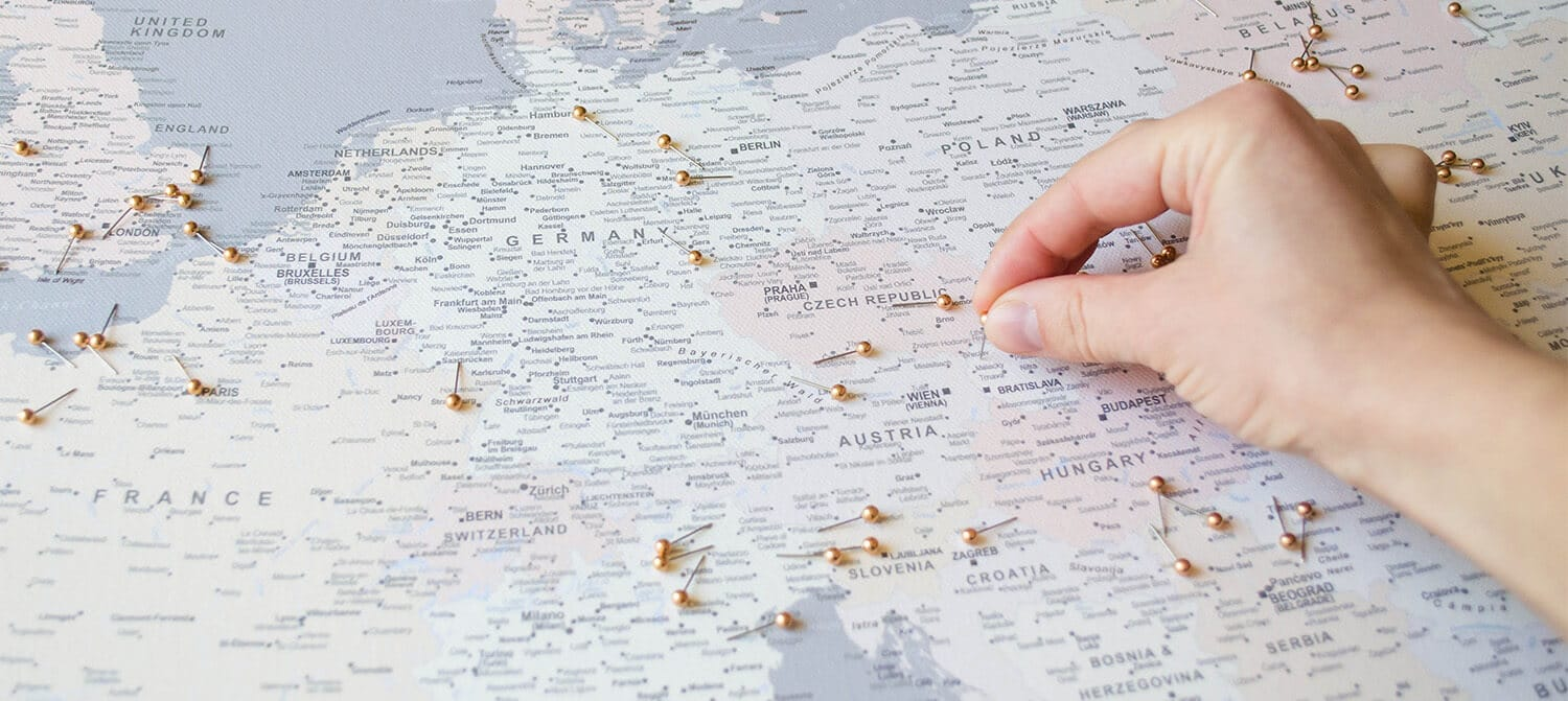 detailed world maps with pins tripmapworld