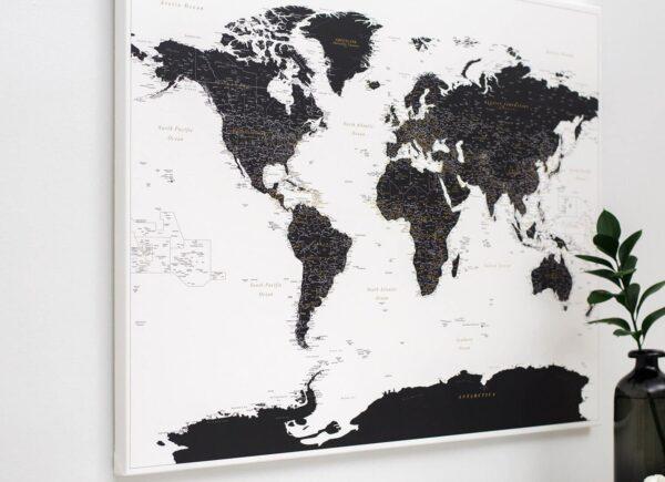 detailed-white-and-black-world-map-push-pin-tripmapworld