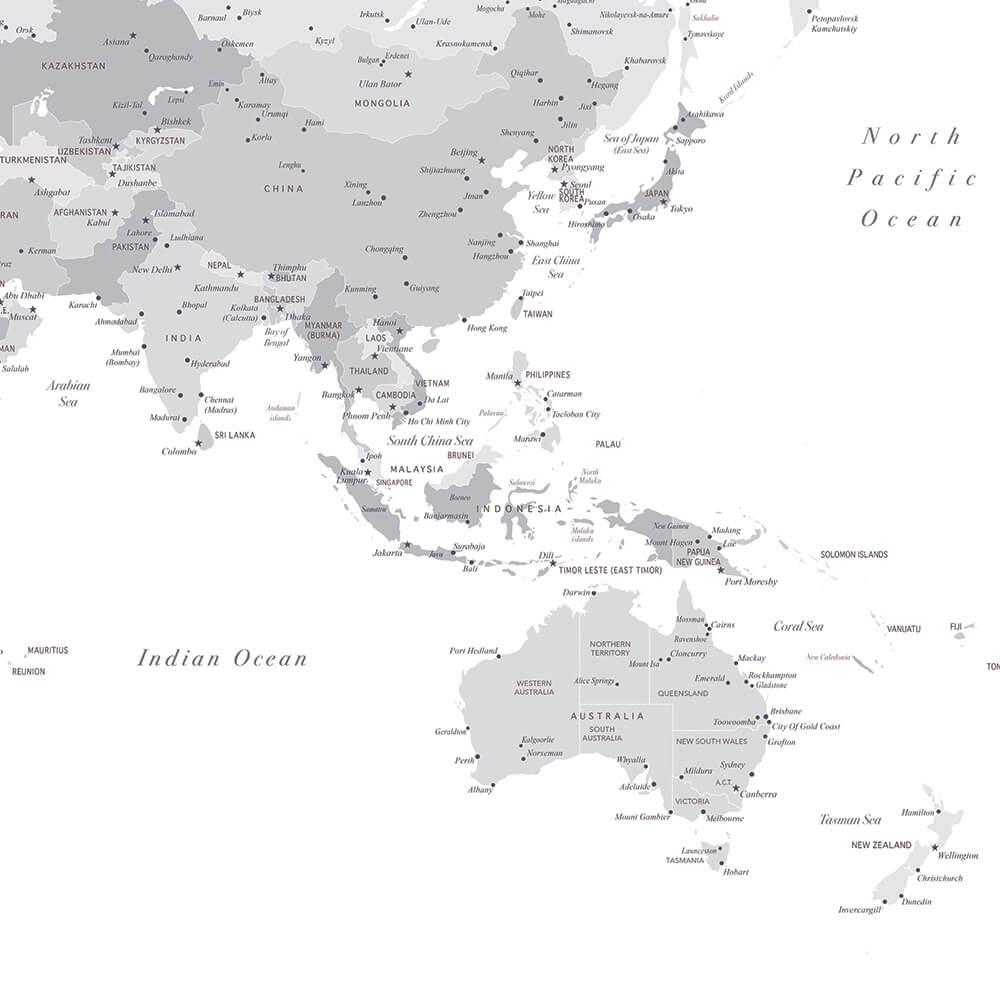 high-detailed-asia-push-pin-map