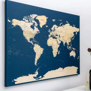 pin map travel dark blue