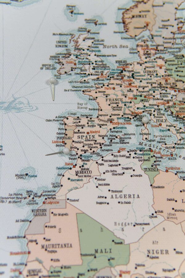 trip map world europe in world map