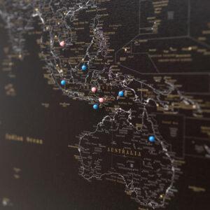 tripmapworld midnight black world map