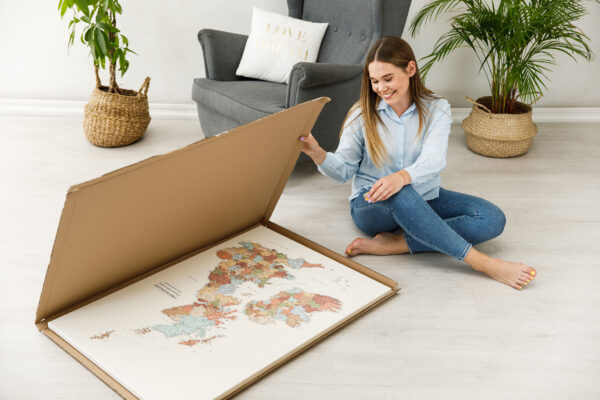uk map unpacking