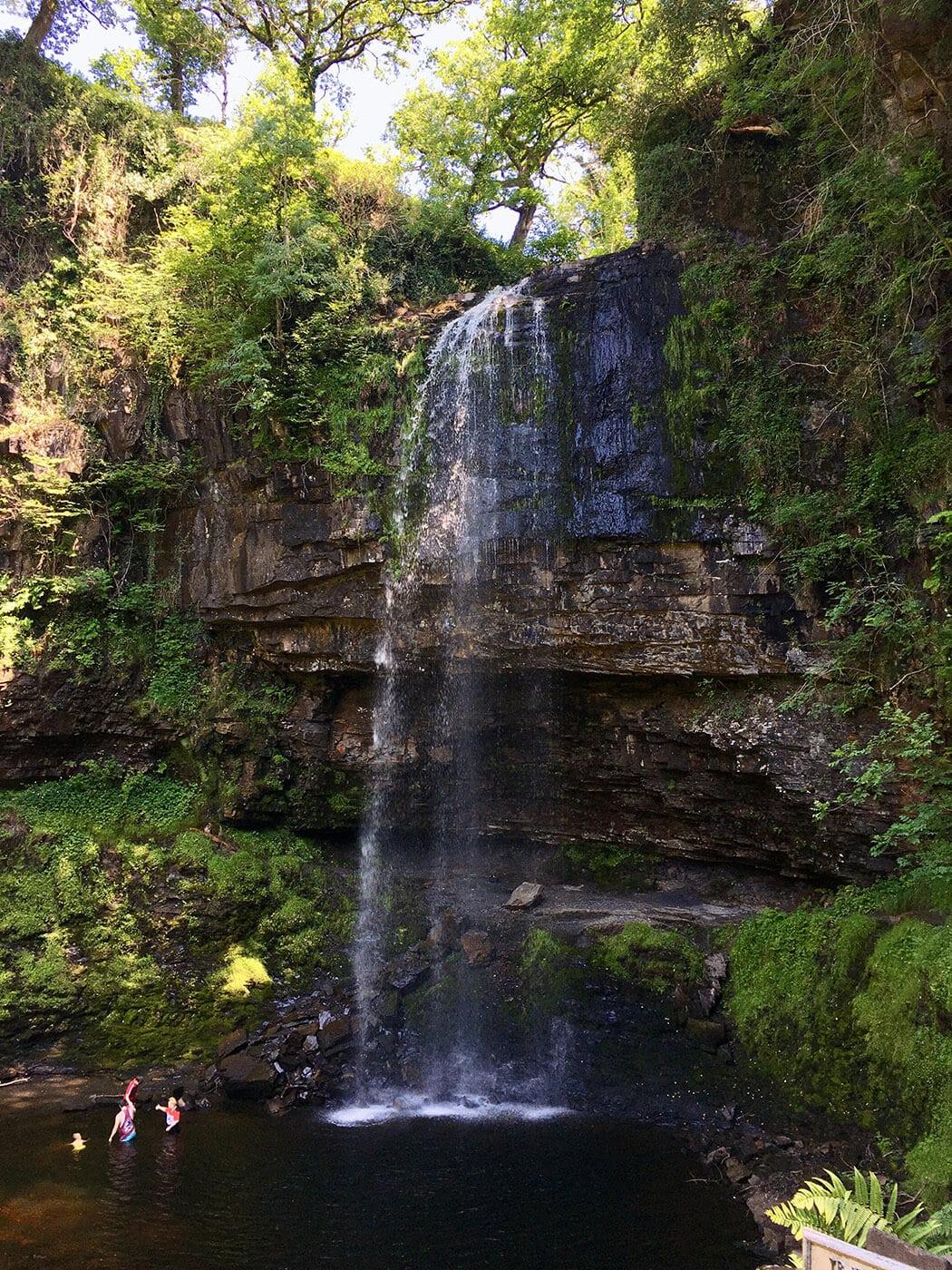 3-Henrhyd Falls, Powys, Wales