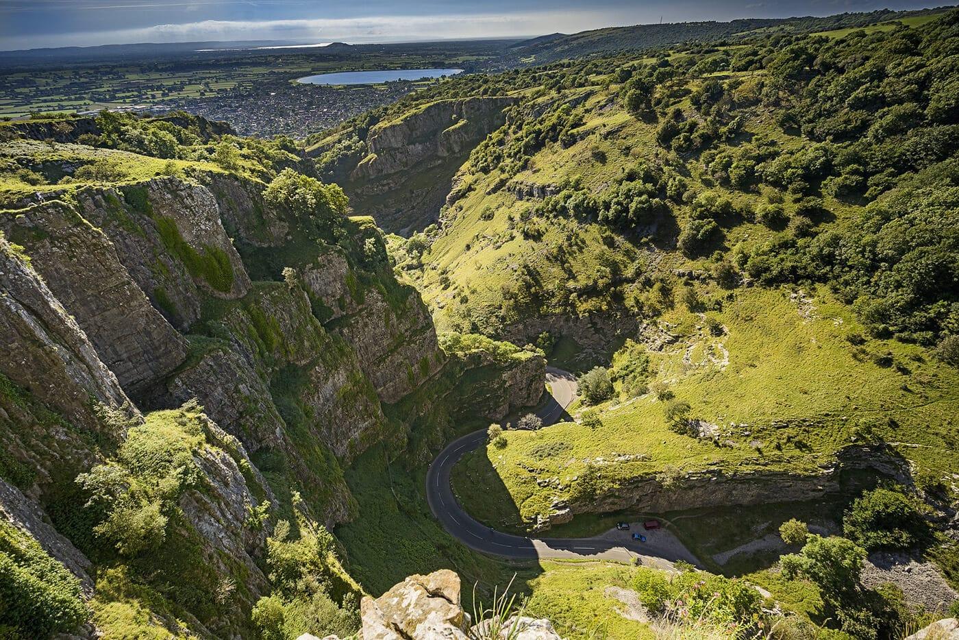 5-Cheddar Gorge, Somerset, England