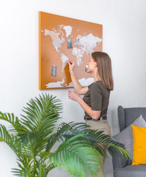 anniversary-travel-world-map-push-pin-honey