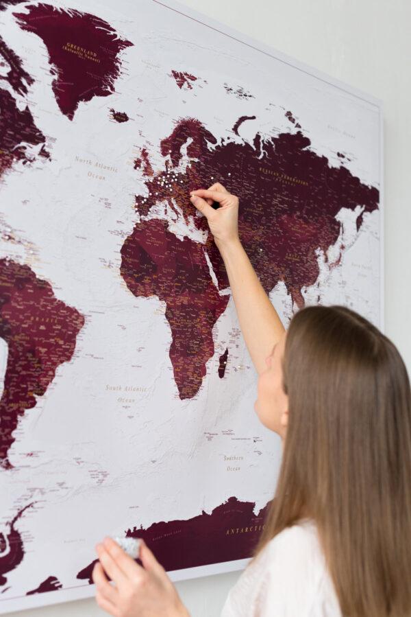 anniversary-world-travel-map-burgundy