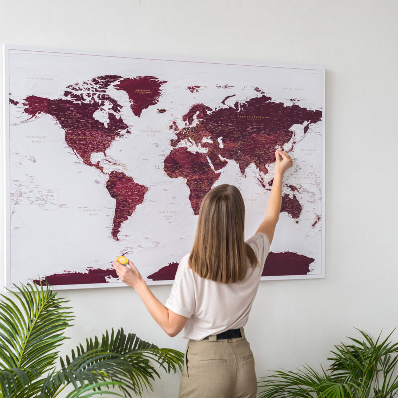 burgundy-push-pin-world-map-tripmap