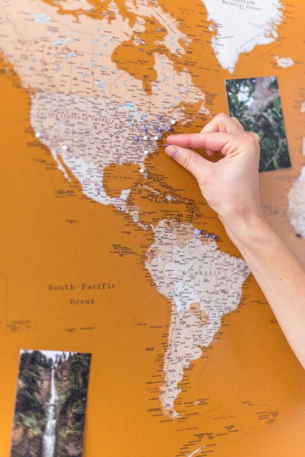 detaled-mustard-world-map-wall-art-with-pins-honey