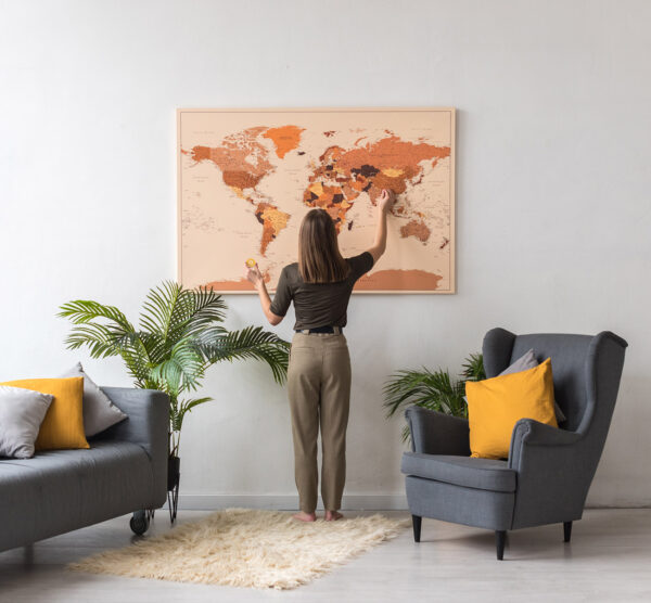 extra-large-brown-push-pin-world-map-on-canvas