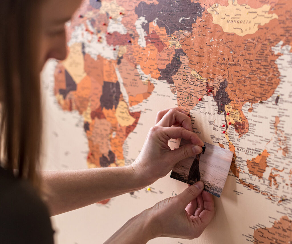 personalized-detailed-brown-push-pin-world-map
