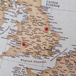 pinnable europe map large wall art vintage