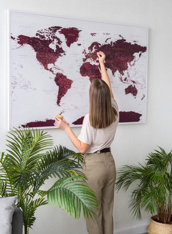 push-pin-large-world-map-burgundy-tripmapworld
