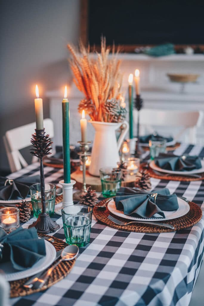 hygge at home dinner