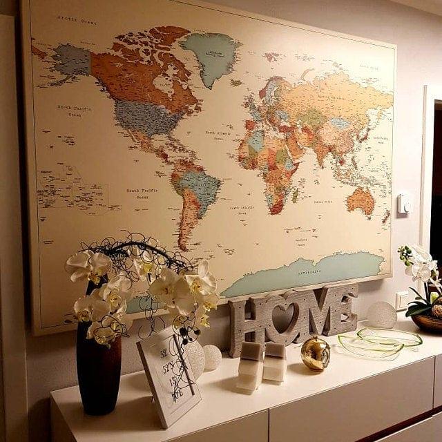 world map political tripmap