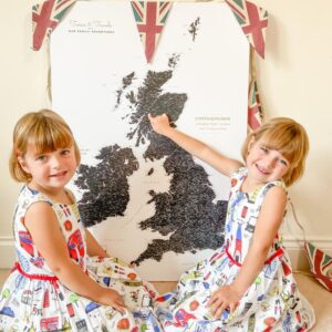 twins and travel tripmap