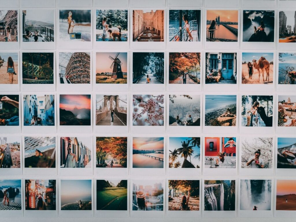 travel images for vision board