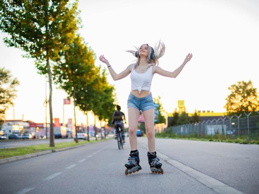 roller-skaiting summer ideas