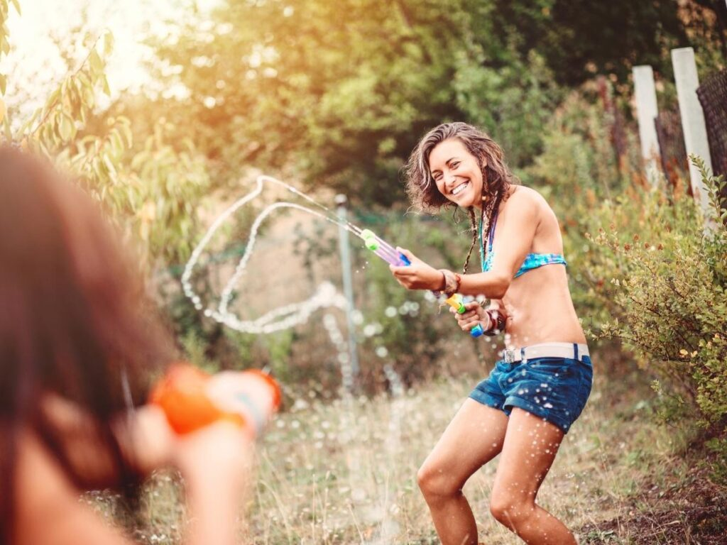 water fight summer to do list